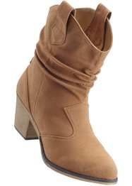Enkellaarsjes, bpc bonprix collection, camel