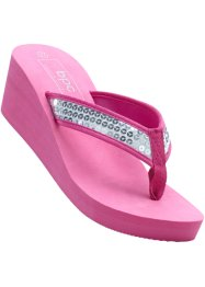 Teenslippers, bpc bonprix collection, pink