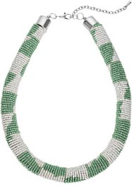 Collier, bpc bonprix collection, mint/crème/zilverkleur