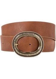 Leren riem, bpc bonprix collection, bruin