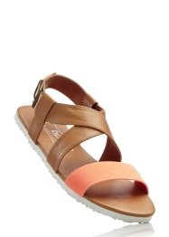 Sandalen, bpc bonprix collection, camel/nectarine
