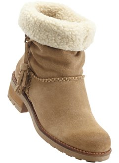 Booties, bpc bonprix collection, taupe