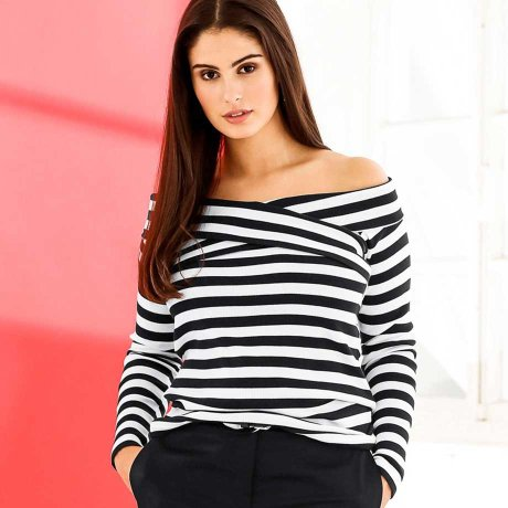 Dames - Grote maten - Trends - Off shoulder