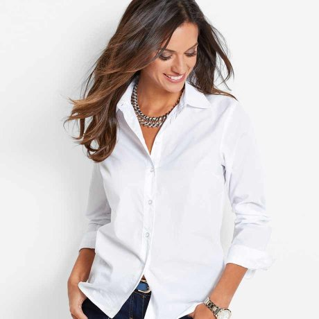 Dames - Blouse - wit