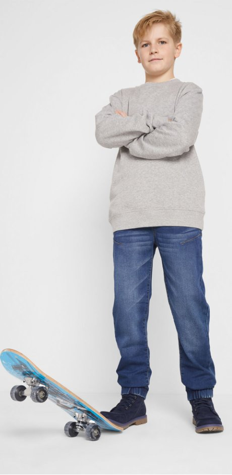 Kinderen - Winterjeans, regular fit - blue stone