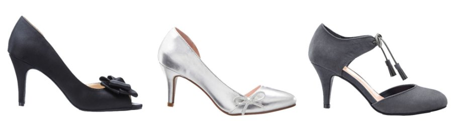 Dames - Pumps - antraciet