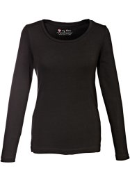 Longsleeve, bpc bonprix collection, zwart