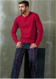 Pyjama, bpc bonprix collection, rood geruit