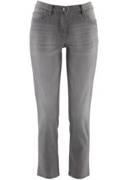 7/8-stretchjeans, bpc selection, grey denim
