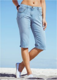 Capri-jeans, bpc bonprix collection, lightblue bleached