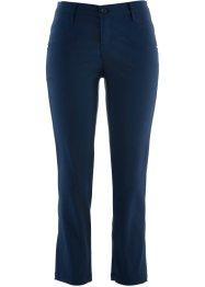 Afslankende 7/8-stretchbroek, bpc bonprix collection, donkerblauw