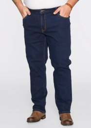 Stretchjeans Classic Fit, John Baner JEANSWEAR, donkerblauw