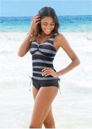 Tankini (2-dlg. set), bpc bonprix collection, zwart gestreept