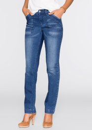 Stretchjeans straight, John Baner JEANSWEAR, blauw
