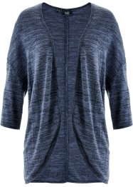 Shirtvest, bpc bonprix collection, indigo gemêleerd