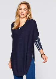 Poncho, bpc bonprix collection, donkerblauw