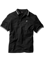 Poloshirt, bpc bonprix collection, zwart