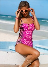 Tankini (2-dlg. set), RAINBOW, pink gedessineerd