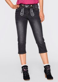 3/4-jeans, bpc bonprix collection, black stone