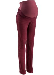 Zwangerschapsbroek straight, bpc bonprix collection, ahornrood