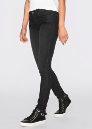 Jeans super skinny, RAINBOW, black denim