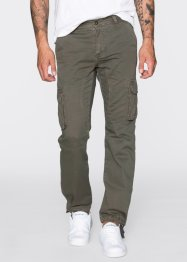 Cargobroek loose fit tapered, RAINBOW, donkerolijfgroen