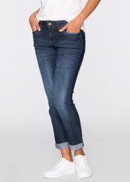 7/8-stretchjeans STRAIGHT, John Baner JEANSWEAR, blauw