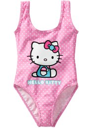 Badpak «Helly Kitty», roze gestippeld Hello Kitty