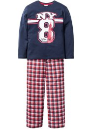 Pyjama (2-dlg.), bpc bonprix collection, donkerblauw