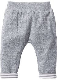 Broek, bpc bonprix collection, zwart/wit gemêleerd