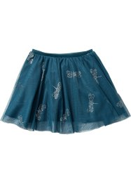 Rok, bpc bonprix collection, blauwpetrol gedessineerd