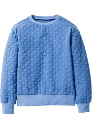 Sweatshirt, bpc bonprix collection, hemelsblauw