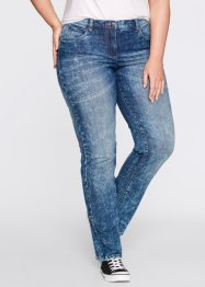 Corrigerende stretchjeans, bpc bonprix collection, black stone used