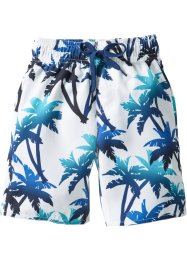 Zwemshort, bpc bonprix collection, blauw/wit