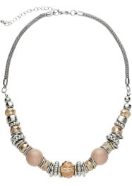 Collier, bpc bonprix collection, lichtbruin/zilverkleur