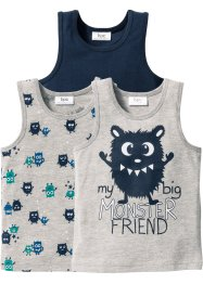 Singlet (set van 3), bpc bonprix collection