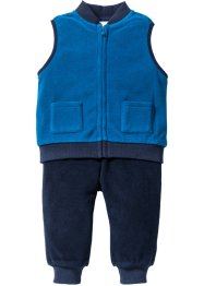 Bodywarmer+broek (2-dlg. set), bpc bonprix collection, oceaanblauw/donkerblauw