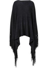 Poncho, bpc bonprix collection, zwart
