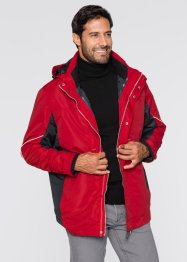 3in1-outdoorjas, bpc selection, donkerblauw/lichtgrijs
