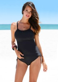 Tankini (2-dlg. set), bpc selection, zwart