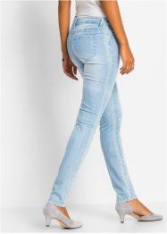 Stretch jeans in used look, BODYFLIRT