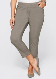 7/8-stretchbroek, bpc selection, taupe