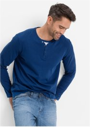 Longsleeve, bpc bonprix collection, gentiaanblauw