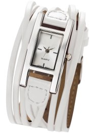 Horloge «Estelle», bpc bonprix collection, wit
