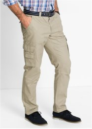 Cargobroek regular fit straight, bpc selection, sand