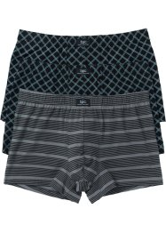 Boxershort (set van 3), bpc bonprix collection, gedessineerd