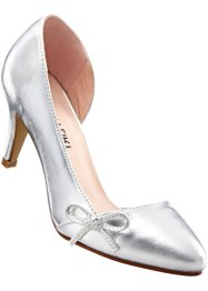 Pumps, BODYFLIRT, zilverkleur metallic