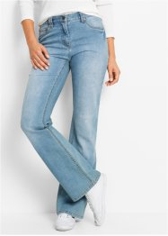 Stretchjeans bootcut, bpc bonprix collection, medium blue bleached