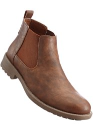 Chelseaboots, bpc bonprix collection, cognac