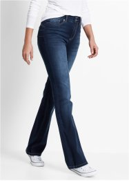 Push-upjeans bootcut, bpc bonprix collection, dark denim